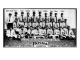 Washington D.C., Washington Nationals, Team Photograph, Baseball Card Posters by  Lantern Press