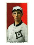 Portsmouth, VA, Portsmouth Virginia League, Pat McCauley, Baseball Card Posters by  Lantern Press