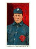 Vancouver, WA, Vancouver Northwestern League, Brashear, Baseball Card Posters by  Lantern Press