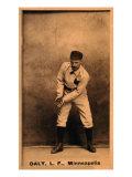 Minneapolis, MN, Minneapolis Minor League, Sun Daly, Baseball Card Posters by  Lantern Press