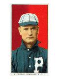 Portland, OR, Portland Pacific Coast League, McCredie, Baseball Card Posters by  Lantern Press