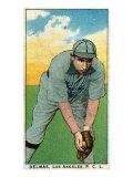 Los Angeles, CA, Los Angeles Pacific Coast League, Delmas, Baseball Card Posters by  Lantern Press