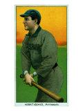 Pittsburgh, PA, Pittsburgh Pirates, Ed Abbaticchio, Baseball Card Posters by  Lantern Press