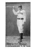 St. Louis, MO, St. Louis Browns, Icebox Chamberlain, Baseball Card Print