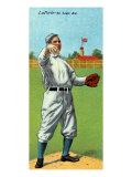 St. Louis, MO, St. Louis Browns, Frank B. LaPorte, Baseball Card Print