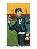 Vancouver, WA, Vancouver Northwestern League, Brinker, Baseball Card Print by  Lantern Press