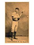 St. Paul, MN, St. Paul Minor League, A. M. Tuckerman, Baseball Card Print by  Lantern Press