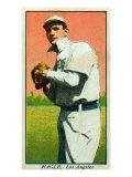 Los Angeles, CA, Los Angeles Pacific Coast League, Nagle, Baseball Card Print by  Lantern Press