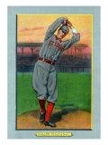St. Louis, MO, St. Louis Cardinals, Slim Sallee, Baseball Card Print