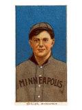 Minneapolis, MN, Minneapolis Minor League, Quillen, Baseball Card Posters by  Lantern Press