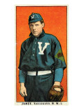 Vancouver, WA, Vancouver Northwestern League, James, Baseball Card Posters by  Lantern Press