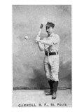 St. Paul, MN, St. Paul Minor League, Carroll, Baseball Card Posters by  Lantern Press