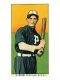 Portland, OR, Portland Pacific Coast League, J. Ryan, Baseball Card Posters