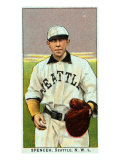 Seattle, WA, Seattle Northwestern League, Spencer, Baseball Card Posters by  Lantern Press