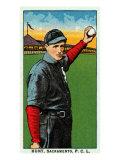 Sacramento, CA, Sacramento Pacific Coast League, Hunt, Baseball Card Posters