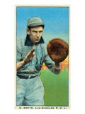 Los Angeles, CA, Los Angeles Pacific Coast League, H. Smith, Baseball Card Posters by  Lantern Press