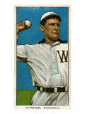 Washington D.C., Washington Nationals, Germany Schaefer, Baseball Card Posters by  Lantern Press