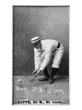 St. Louis, MO, St. Louis Browns, Duffe, Baseball Card Print