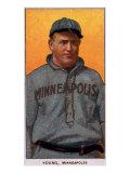 Minneapolis, MN, Minneapolis Minor League, Irv Young, Baseball Card Print by  Lantern Press