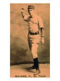 St. Paul, MN, St. Paul Minor League, Maines, Baseball Card Print by  Lantern Press