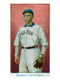 Rocky Mount, NC, Rocky Mount Minor League, Bourquise, Baseball Card Print