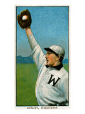 Washington D.C., Washington Nationals, Bob Ganley, Baseball Card Print