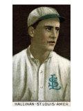 St. Louis, MO, St. Louis Browns, E. S. Halliman, Baseball Card Print