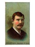 St. Louis, MO, St. Louis Browns, Chris Von Der Ahe, Baseball Card Posters by  Lantern Press