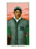 Minneapolis, MN, Minneapolis Minor League, Frank Oberlin, Baseball Card Posters by  Lantern Press