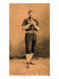 St. Paul, MN, St. Paul Minor League, John Sowders, Baseball Card Posters by  Lantern Press