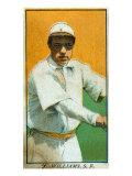 San Francisco, CA, San Francisco Pacific Coast League, F. Williams, Baseball Card Poster