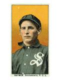 Sacramento, CA, Sacramento Pacific Coast League, Raymer, Baseball Card Poster