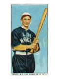 Los Angeles, CA, Los Angeles Pacific Coast League, Wheeler, Baseball Card Poster by  Lantern Press