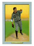 St. Louis, MO, St. Louis Browns, Rube Waddell, Baseball Card Poster