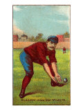 St. Louis, MO, St. Louis Browns, Will Gleason, Baseball Card Posters