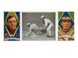 St. Louis, MO, St. Louis Browns, R. J. Wallace, Barney Pelty, Baseball Card Posters by  Lantern Press