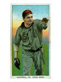 St. Louis, MO, St. Louis Browns, Rube Waddell, Baseball Card Posters by  Lantern Press