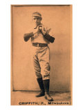 Milwaukee, WI, Milwaukee Minor League, Griffith, Baseball Card Posters by  Lantern Press