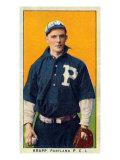 Portland, OR, Portland Pacific Coast League, Krapp, Baseball Card Posters