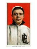 Little Rock, AR, Little Rock Southern League, Lentz, Baseball Card Posters by  Lantern Press