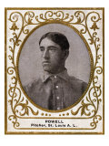 St. Louis, MO, St. Louis Browns, Jack Powell, Baseball Card Posters