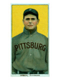 Pittsburgh, PA, Pittsburgh Pirates, George Gibson, Baseball Card Posters by  Lantern Press