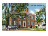 Exterior View of the Wythe House, Williamsburg, Virginia Prints by  Lantern Press