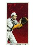 Oakland, CA, Oakland Pacific Coast League, Pearce, Baseball Card Posters