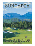 Roslyn, Washington, Prospector Golf Course Hole, no.10 Posters by  Lantern Press