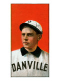 Danville, VA, Danville Virginia League, Frank King, Baseball Card Posters by  Lantern Press