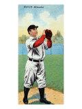 Milwaukee, WI, Milwaukee American League, James E. Barrett, Baseball Card Posters by  Lantern Press