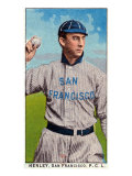 San Francisco, CA, San Francisco Pacific Coast League, Henley, Baseball Card Posters