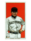 Baltimore, MD, Baltimore Eastern League, Sam Strang, Baseball Card Posters by  Lantern Press