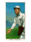Washington D.C., Washington Nationals, Gabby Street, Baseball Card Posters